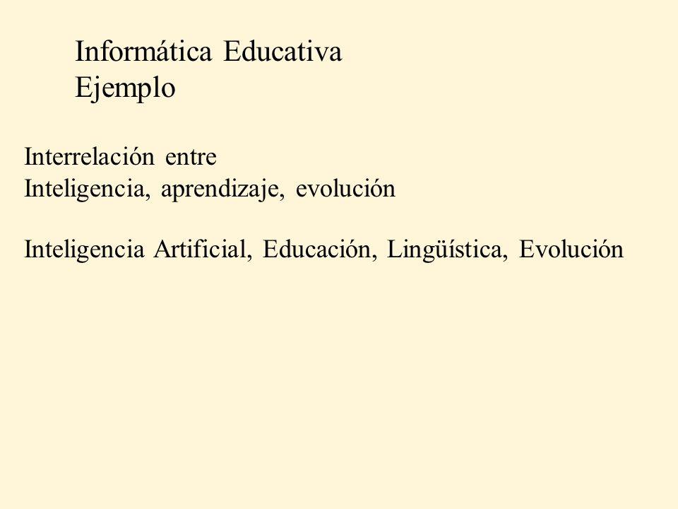 Informática Educativa Ejemplo