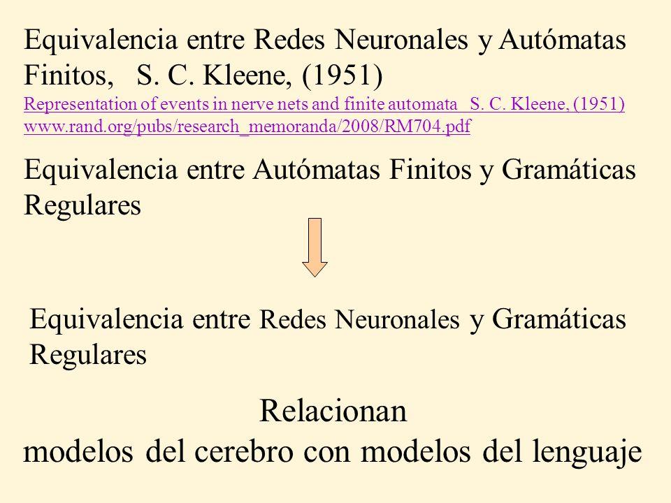 modelos del cerebro con modelos del lenguaje