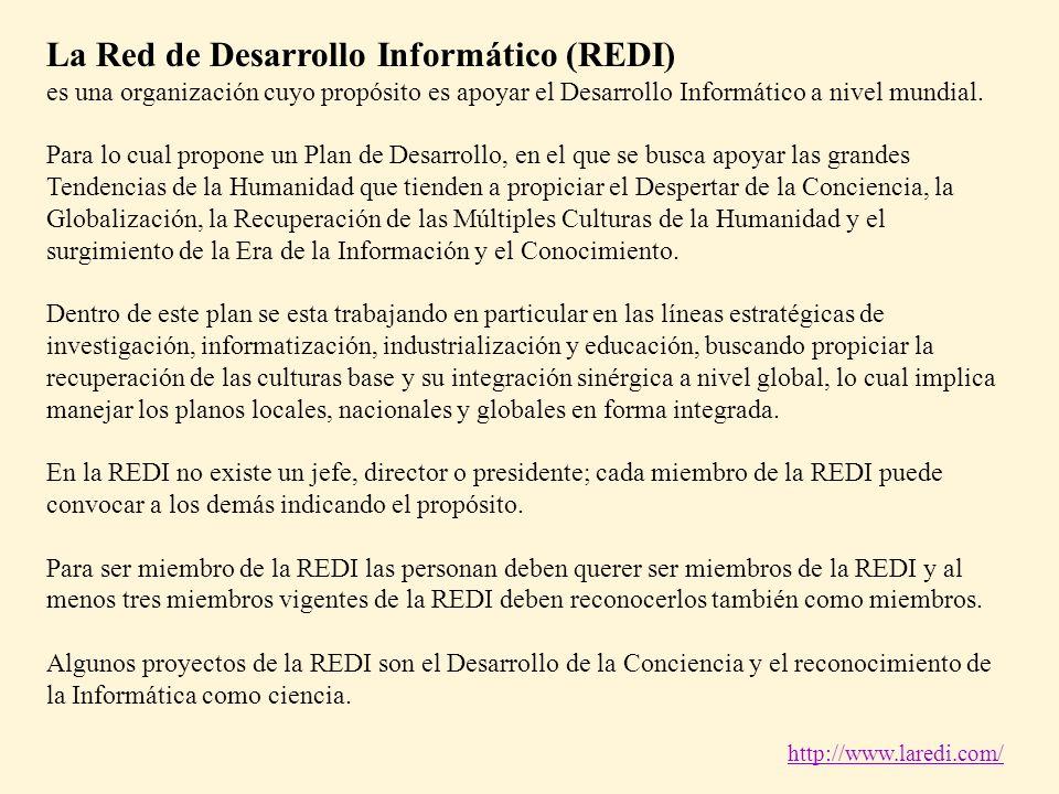 La Red de Desarrollo Informático (REDI)