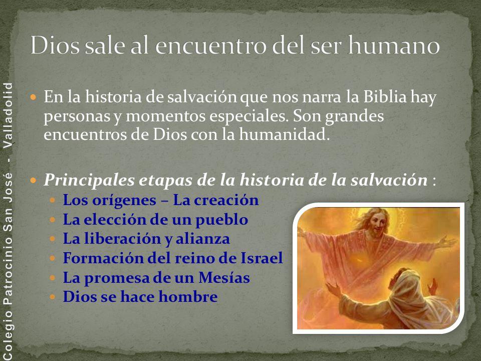 Dios sale al encuentro del ser humano