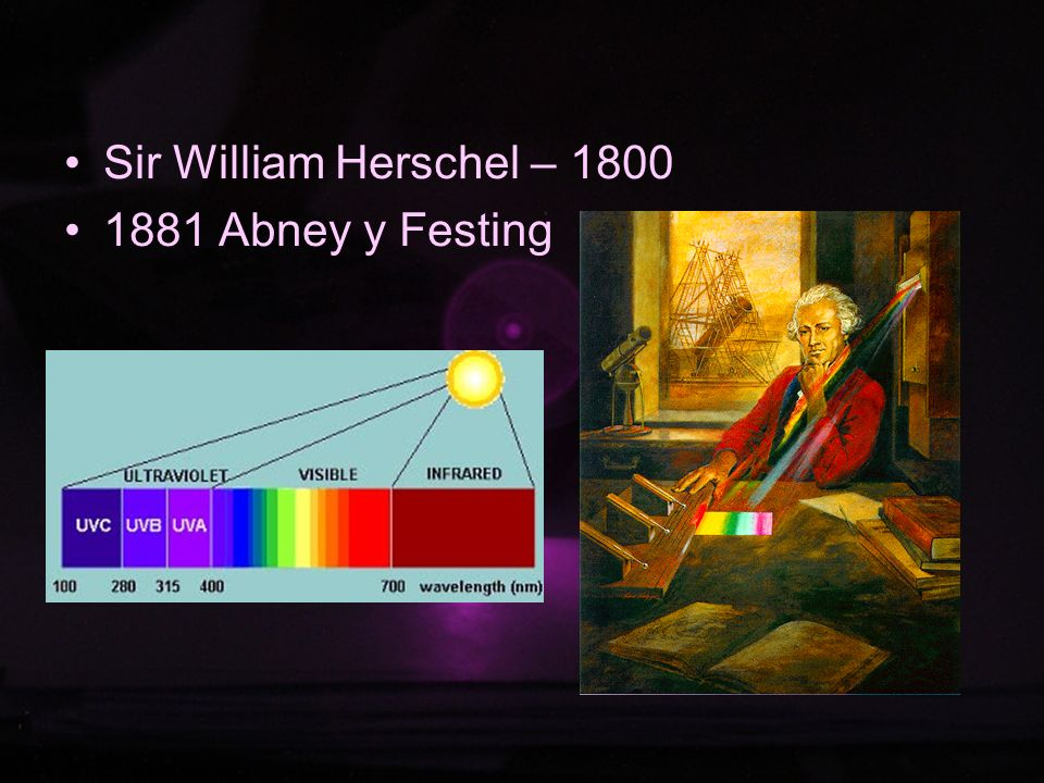 Sir William Herschel – Abney y Festing