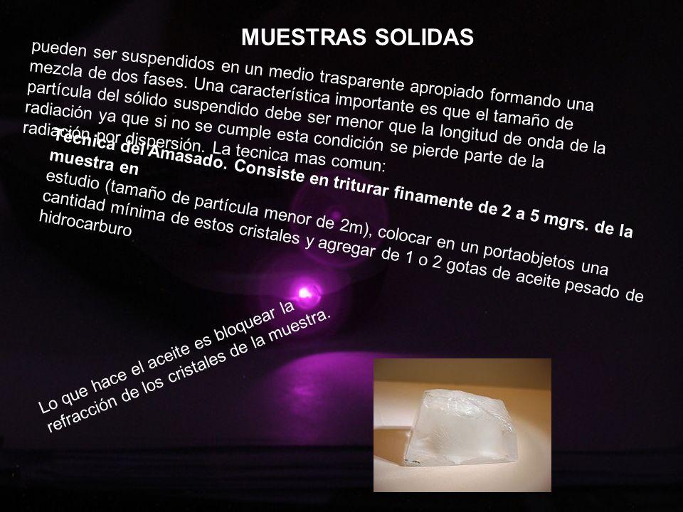 MUESTRAS SOLIDAS