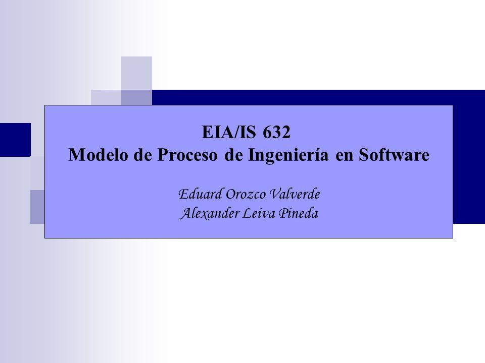 Modelo de Proceso de Ingeniería en Software