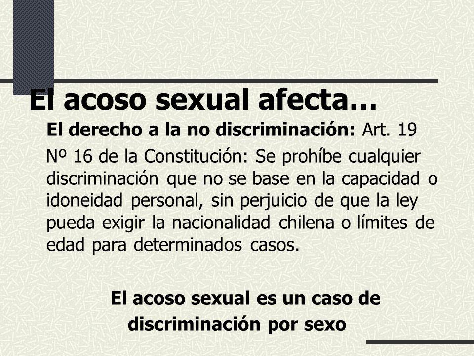 Ley de acoso sexual