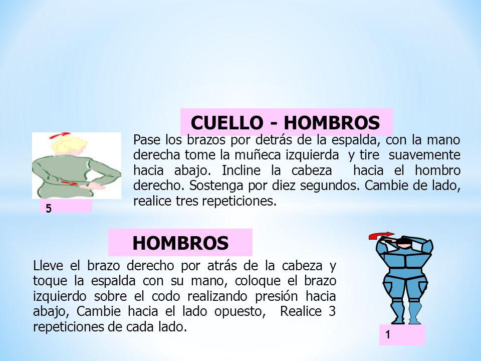 CUELLO - HOMBROS HOMBROS