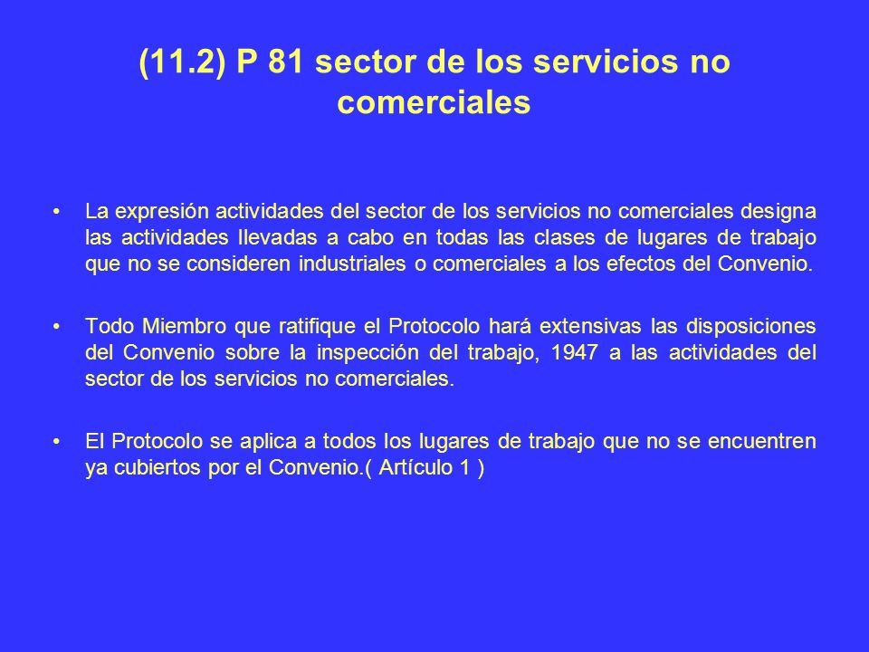 (11.2) P 81 sector de los servicios no comerciales