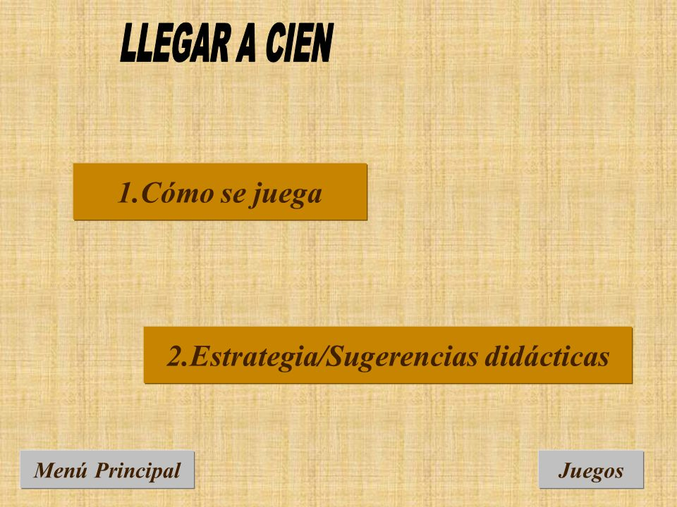 2.Estrategia/Sugerencias didácticas