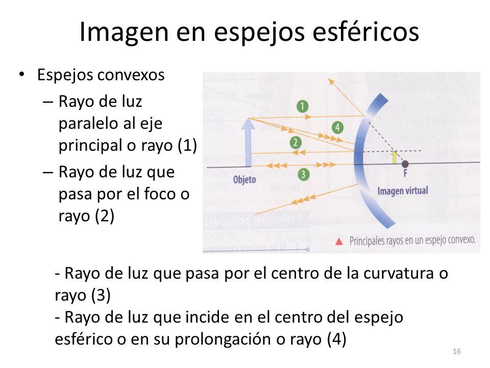 Reflexi n de la luz ppt video online descargar for Espejos esfericos convexos
