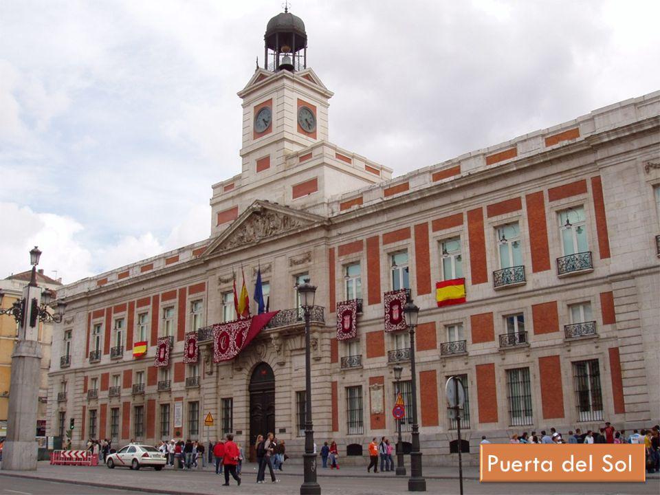 Comentario del plano de madrid ppt descargar for Puerta del sol hoy