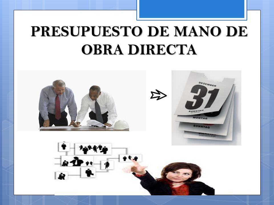 Presupuesto maestro ppt video online descargar - Presupuestos de obras ...
