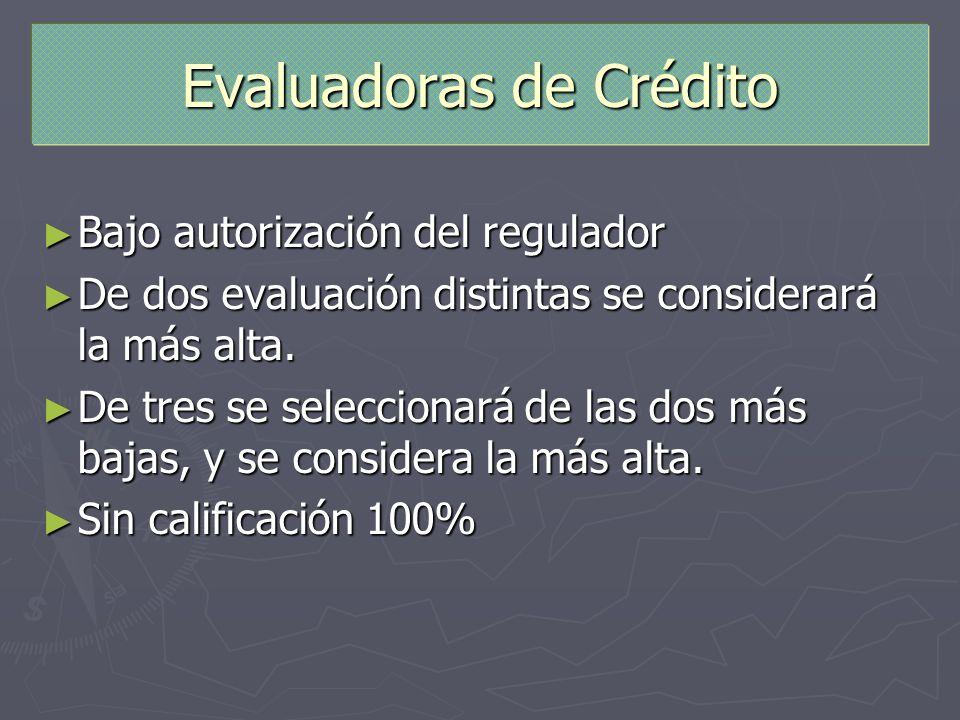 Evaluadoras de Crédito