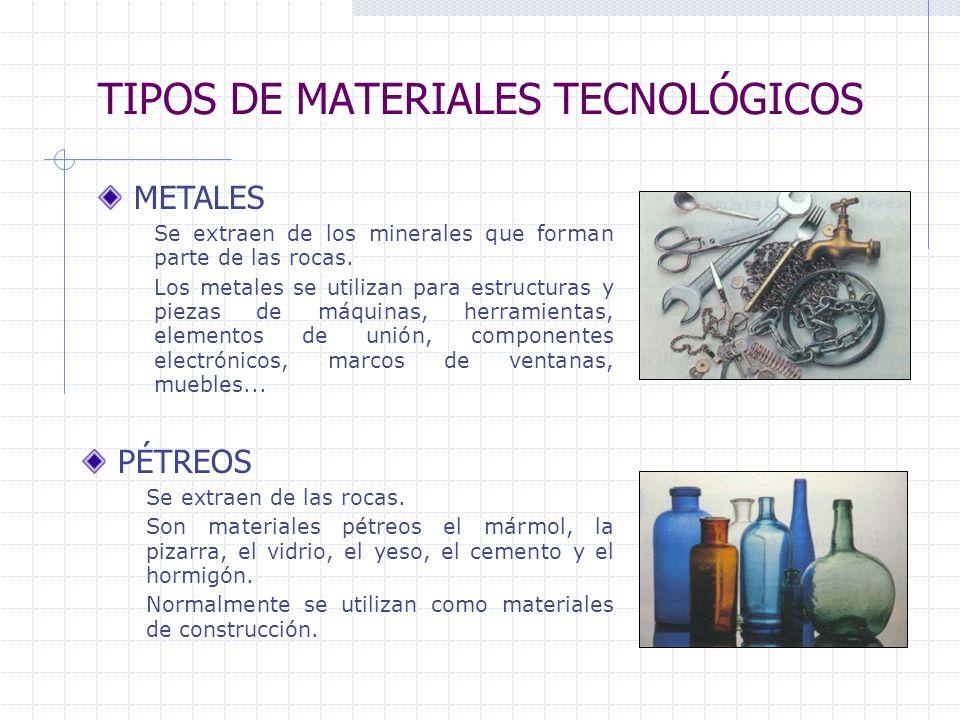 los materiales y sus propiedades ppt descargar On tipos de materiales de construccion
