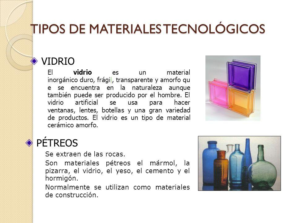 Los Materiales Tecnicos Ppt Video Online Descargar