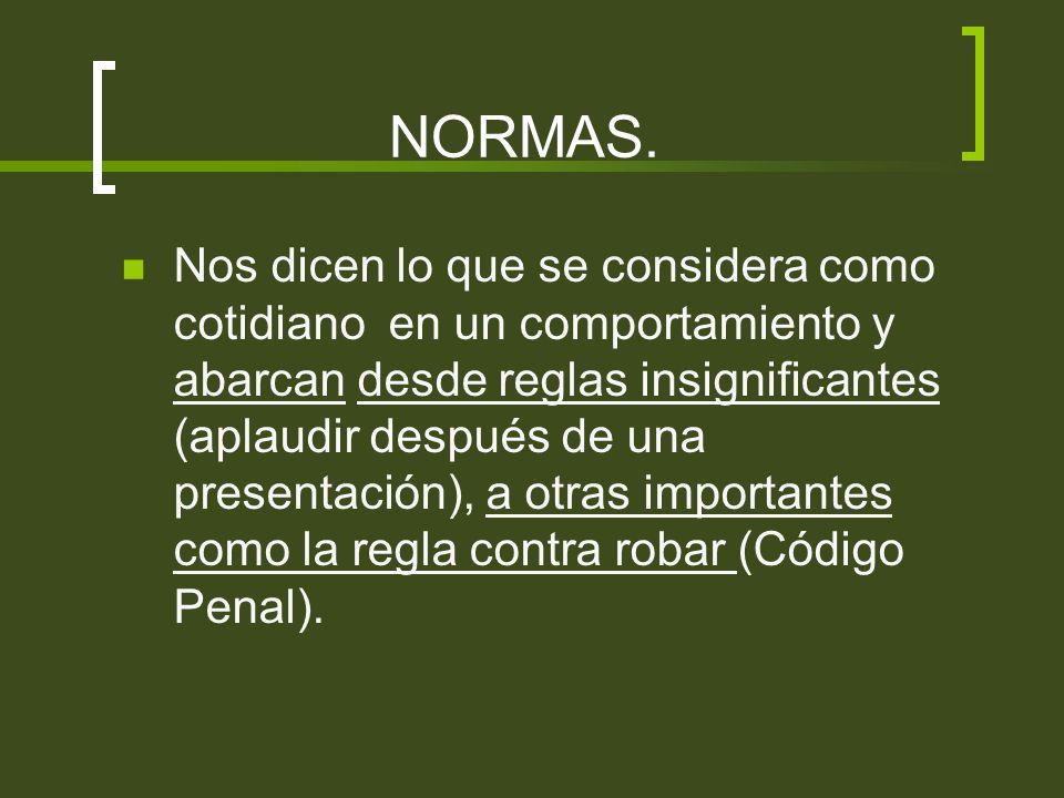 NORMAS.