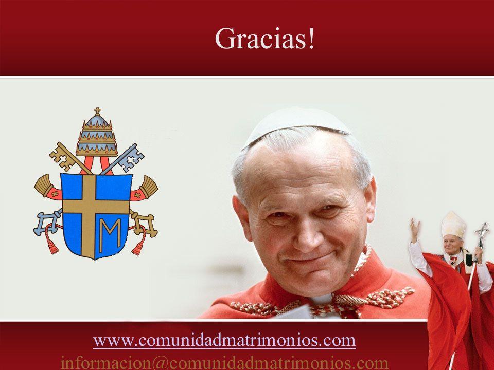 www.comunidadmatrimonios.com informacion@comunidadmatrimonios.com