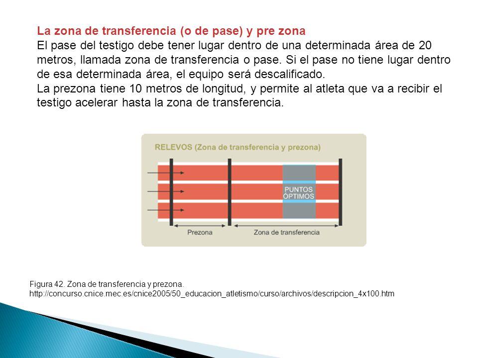 La zona de transferencia (o de pase) y pre zona