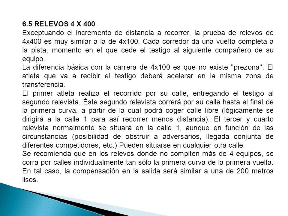 6.5 RELEVOS 4 X 400