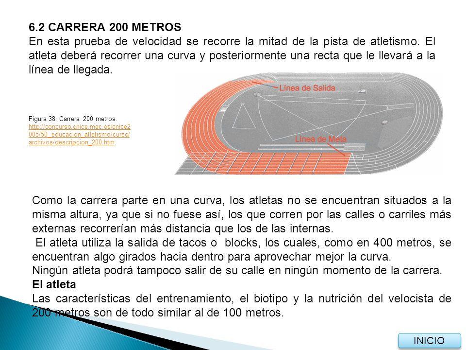 6.2 CARRERA 200 METROS