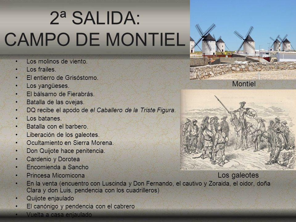 2ª SALIDA: CAMPO DE MONTIEL