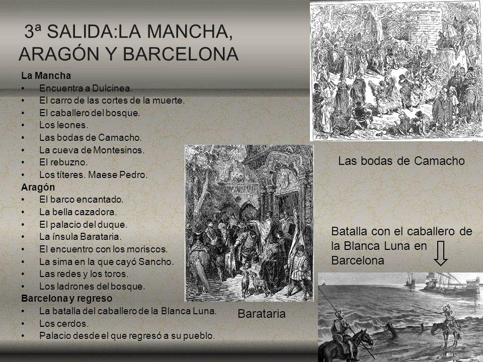 3ª SALIDA:LA MANCHA, ARAGÓN Y BARCELONA