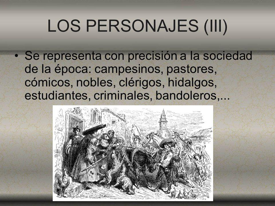 LOS PERSONAJES (III)