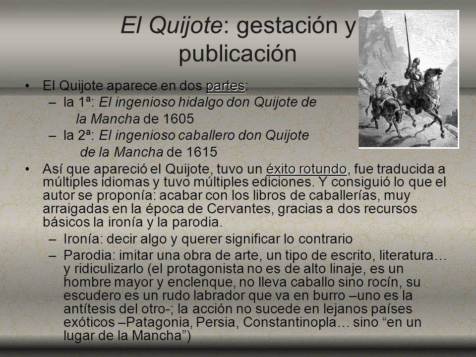 El Quijote: gestación y publicación