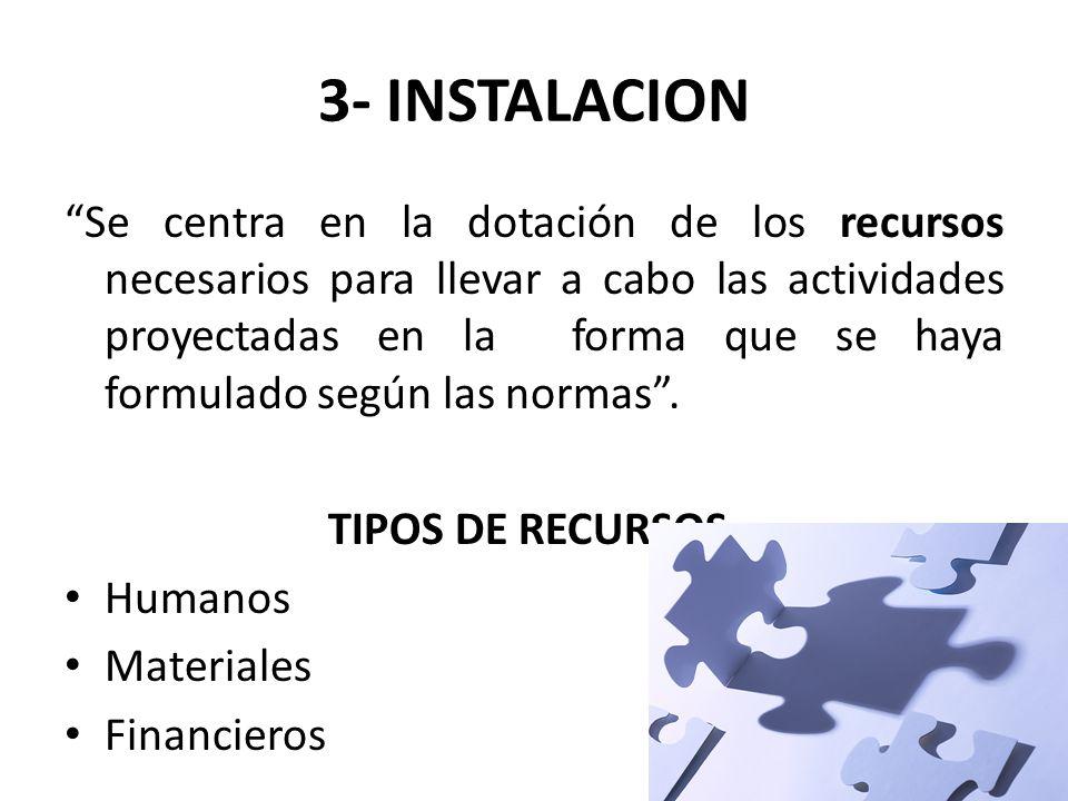 3- INSTALACION