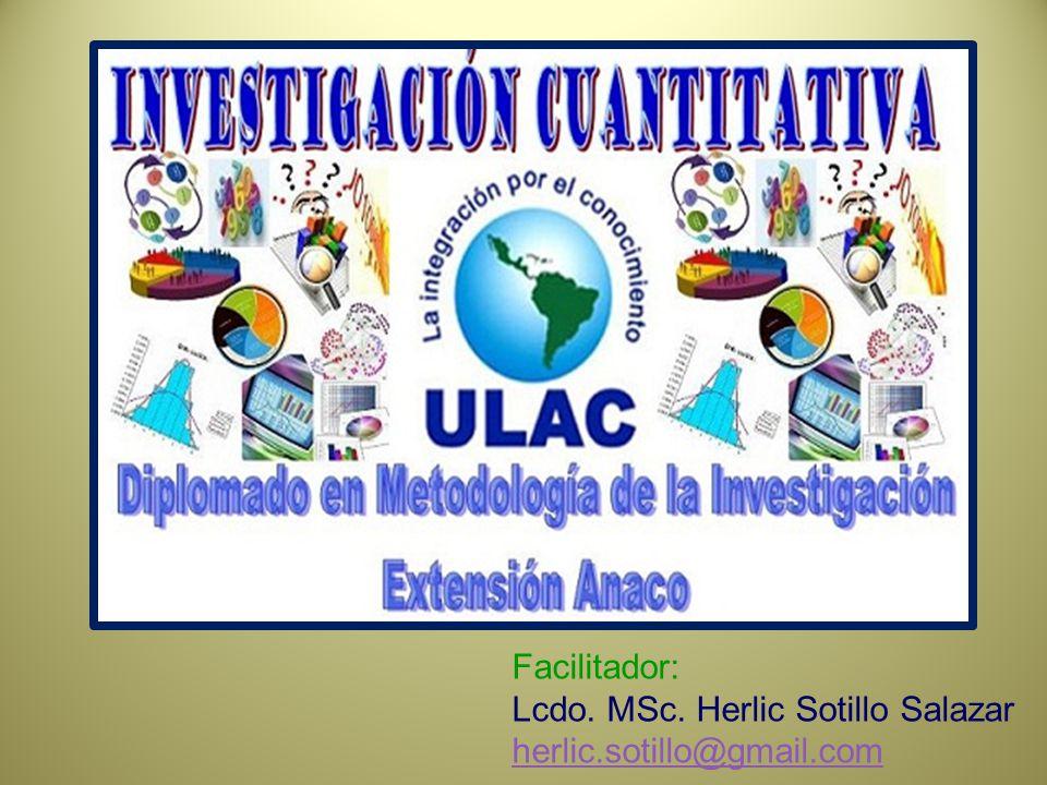 Facilitador: Lcdo. MSc. Herlic Sotillo Salazar herlic.sotillo@gmail.com