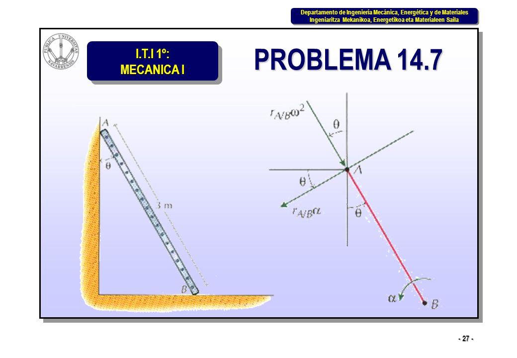 PROBLEMA 14.7