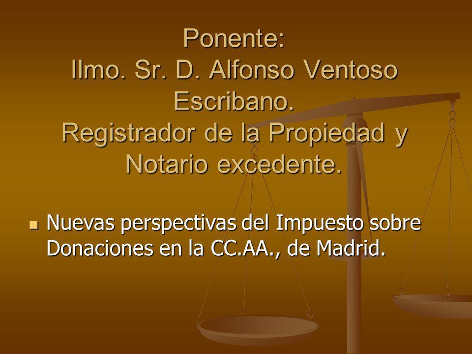 Ponente: Ilmo. Sr. D. Alfonso Ventoso Escribano
