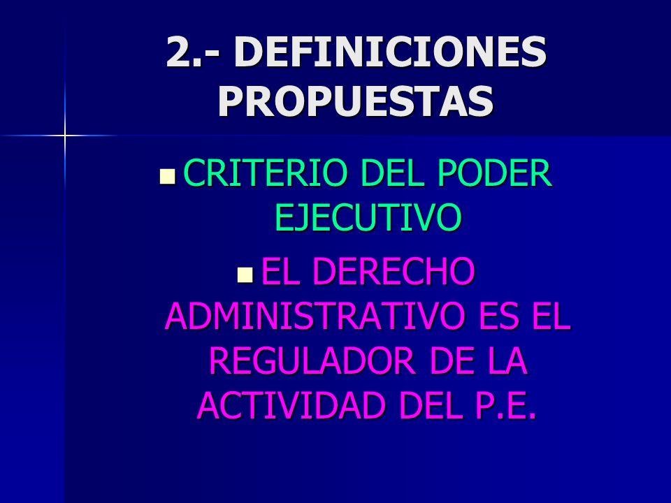 2.- DEFINICIONES PROPUESTAS