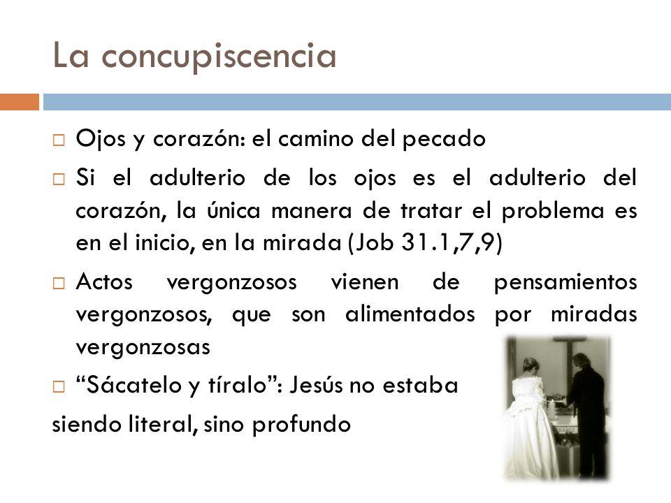 La concupiscencia Ojos y corazón: el camino del pecado
