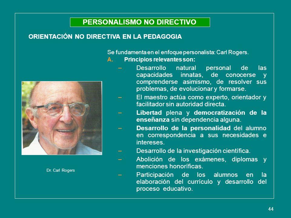 PERSONALISMO NO DIRECTIVO