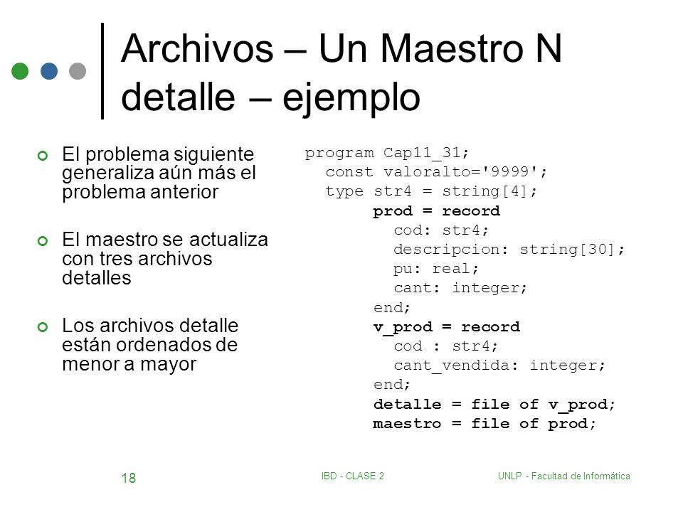 Archivos – Un Maestro N detalle – ejemplo