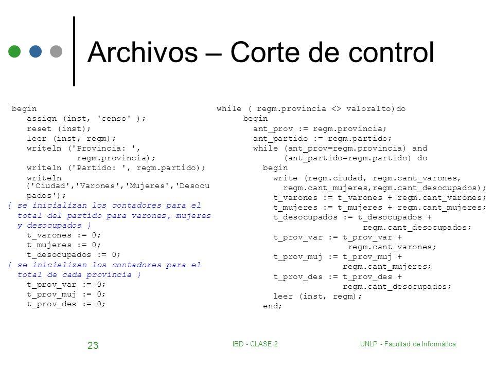 Archivos – Corte de control