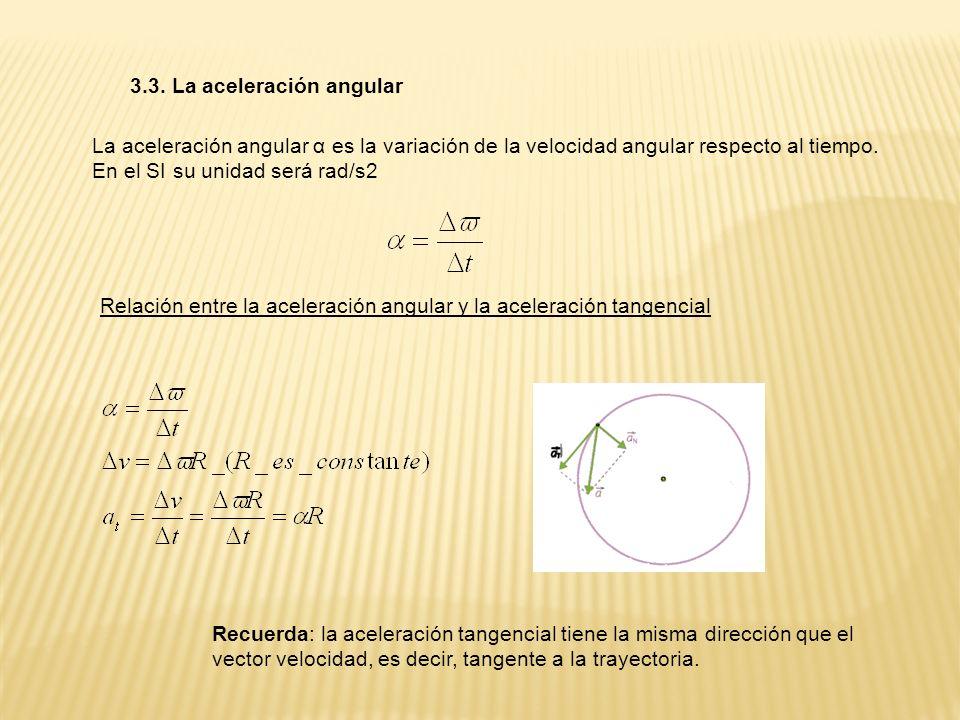 3.3. La aceleración angular