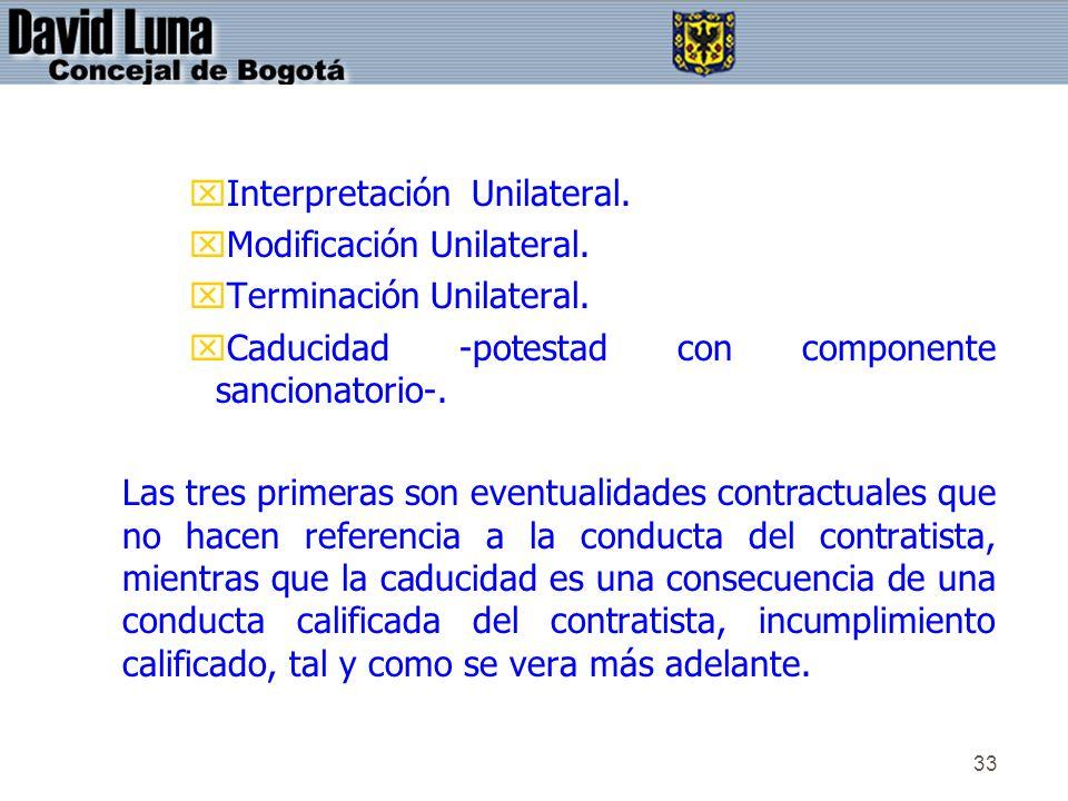 Interpretación Unilateral.