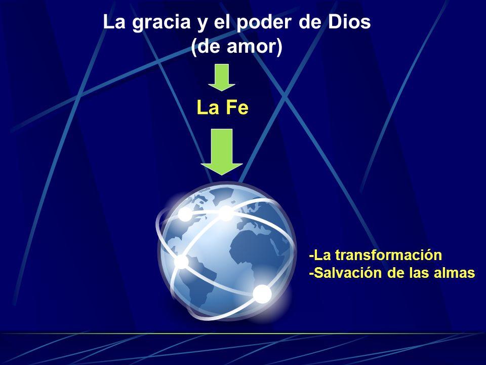 La gracia y el poder de Dios