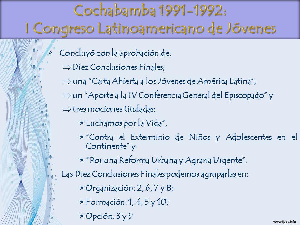 I Congreso Latinoamericano de Jóvenes