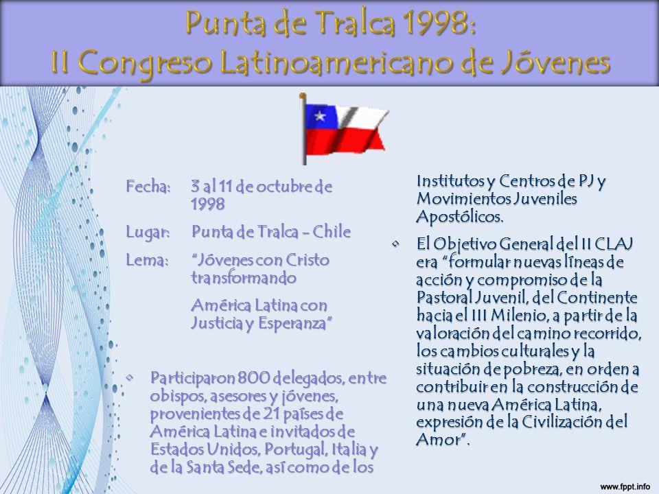 II Congreso Latinoamericano de Jóvenes