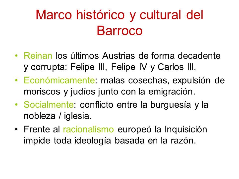 Marco histórico y cultural del Barroco