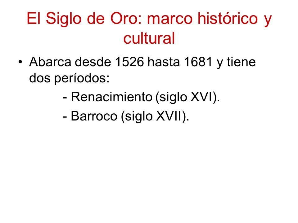 El Siglo de Oro: marco histórico y cultural