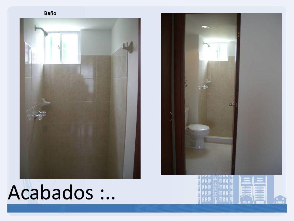 Baño Acabados :..