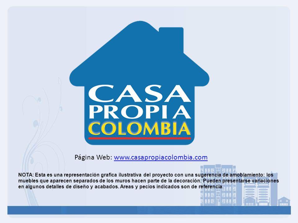 Página Web: www.casapropiacolombia.com