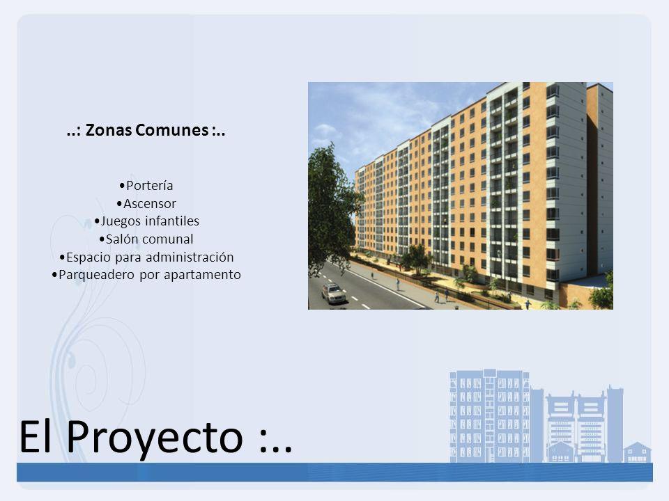 El Proyecto :.. ..: Zonas Comunes :.. Portería Ascensor