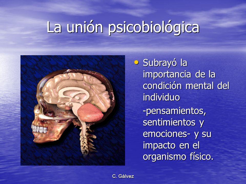 La unión psicobiológica