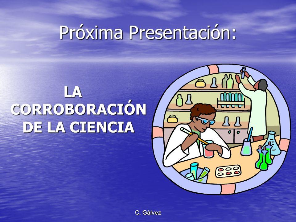 Próxima Presentación: