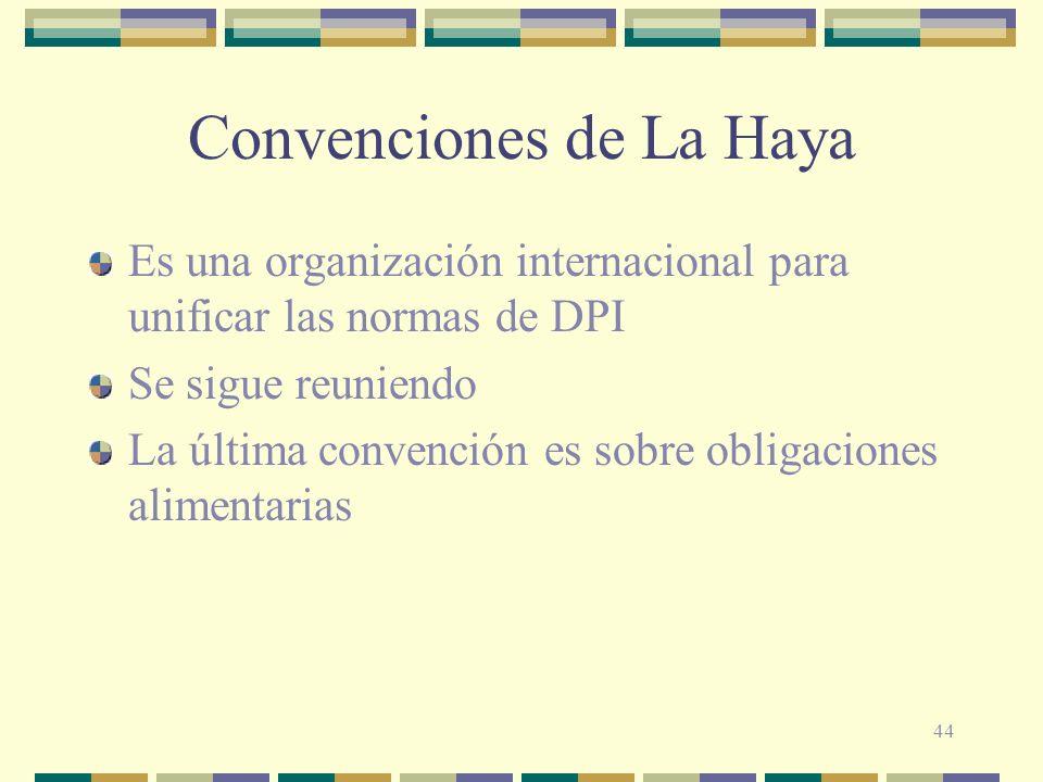 Convenciones de La Haya