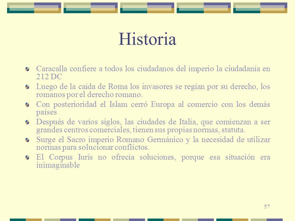 Historia Caracalla confiere a todos los ciudadanos del imperio la ciudadanía en 212 DC.