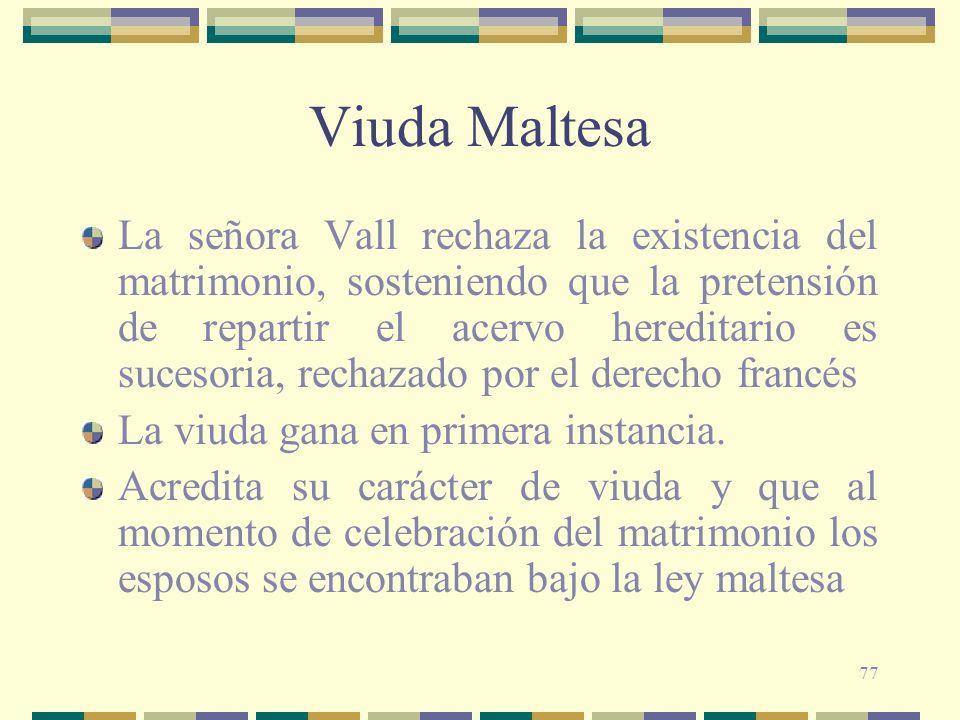 Viuda Maltesa
